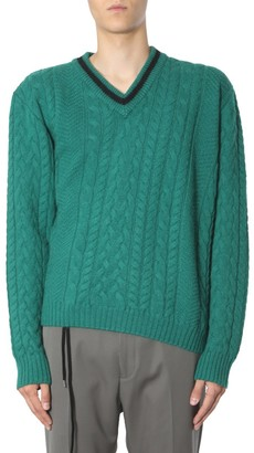 Lanvin Asymmetric Hem Sweater