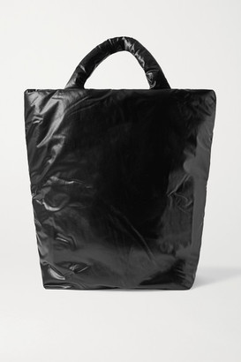 Kassl Editions Extra Large Padded Shell Tote - Black