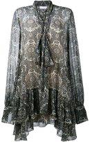 Chloé printed peasant dress