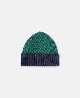 Stella McCartney Melange Knit Hat, Men's