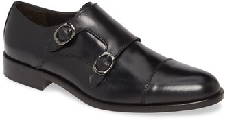 To Boot Ronald Double Monk Strap Shoe