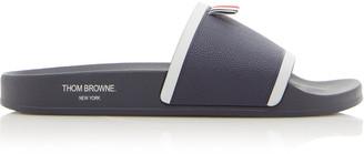 Thom Browne Printed Rubber Slides