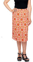 Liz Claiborne New York Pull-On Fully LinedGauze Skirt