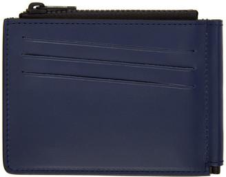 Maison Margiela Blue Money Clip Wallet
