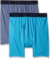Hanes Men's Ultimate X-Temp 2 Pack Performance Cool Boxer Brief