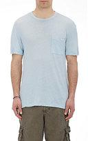 James Perse Men's Patch Pocket T-Shirt-GREY