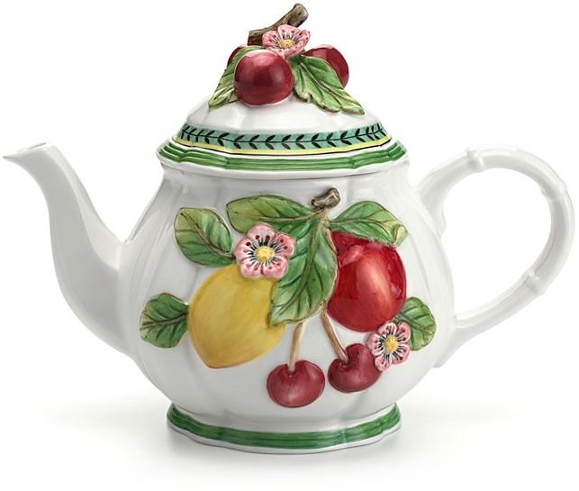 Villeroy & Boch French Garden Figural Teapot