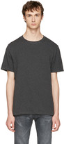 Maison Margiela Black & Grey Striped T-Shirt