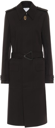 Bottega Veneta Stretch-cotton gabardine trench coat