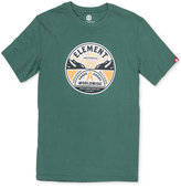 Element Men's Grade A Logo Print Cotton T-Shirt