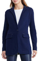 Lauren Ralph Lauren Petite Single-Button Sweater Jacket