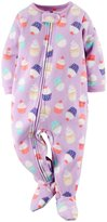 Carter's Print Footie (Baby) - Cupcakes-18 Months