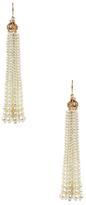 Amrita Singh Pearl Tassel Drop Earrings