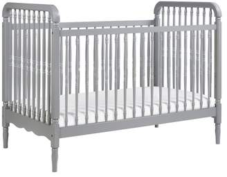 Million Dollar Baby Classic Liberty 3, 1 Convertible Crib With Toddler Bed Conversion Kit, Gray