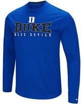 Colosseum Duke Blue Devils Mens Synthetic Streamer Long Sleeve T Shirt
