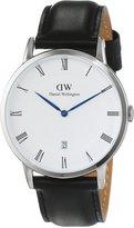 Daniel Wellington Men's Dapper Sheffield 1121DW Leather Quartz Watch