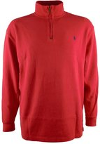 Polo Ralph Lauren Men's Big & Tall Half Zip French Rib Sweater-R-4XLT