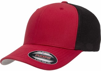Flexfit Flex fit Trucker Mesh Fitted Cap-2-Tone