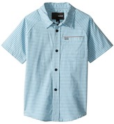 Hurley Raglan Short Sleeve Woven Top Boy's Clothing