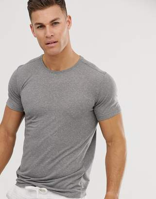 Jack and Jones muscle fit t-shirt in grey