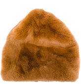 Marni textured fur hat - women - Rabbit Fur/Acrylic/Polyester/Wool - M