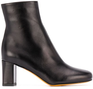 Maryam Nassir Zadeh Square Toe Ankle Boots