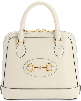 Gucci SM 1955 HORSEBIT LEATHER TOP HANDLE BAG