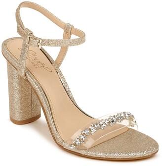 Badgley Mischka Fancie Crystal Embellished Sandal