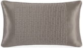 "Hotel Collection Finest Silken Embroidered 14"" x 24"" Decorative Pillow"