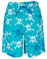 Hatley Skull Print Swim Trunks