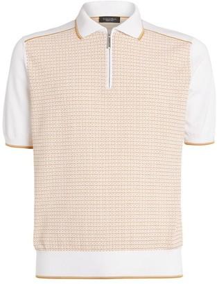 Stefano Ricci Jacquard Polo Shirt