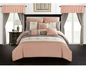 Chic Home Emily 20 Piece King Bed In a Bag Comforter Set Bedding