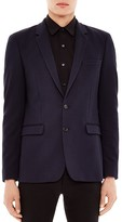 Sandro Structured Knit Blazer
