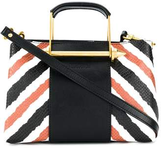 Just Cavalli striped tote bag