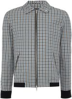 Peter Werth Men's Goodman Check Cotton Blouson Jacket