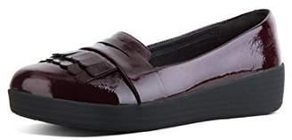 FitFlop Women's FRINGEY Sneakerloafer Ballet Flat