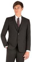 Thomas Nash Charcoal Plain Weave Slimfit 2 Button Jacket