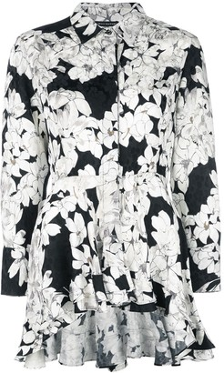 Josie Natori Silk Tunic Top