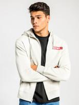 Nike NSW Just Do It Hooded Jacket in Grey