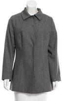 Dolce & Gabbana Herringbone Wool Coat