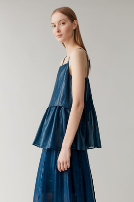 Cos Sleeveless Layered Top