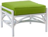 The Well Appointed House Chippendale Outdoor Ottoman