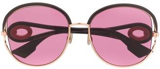 Christian Dior DiorNewVolute oversized-frame sunglasses