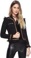 Juicy Couture Speckled Tweed Jacket