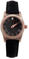 Adrienne Vittadini Women's 25mm Leather Band Quartz Watch Add10440r196-003