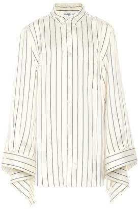 Balenciaga Striped silk shirt