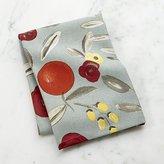 Crate & Barrel Verbena Blossom Dish Towel