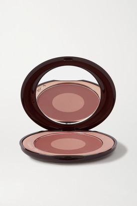 Charlotte Tilbury Cheek To Chic Swish & Glow Blusher - Pillow Talk Intense