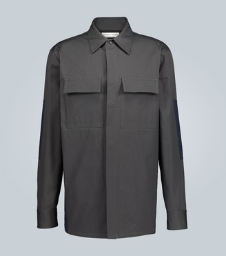 Bottega Veneta Structured cotton overshirt jacket
