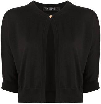 Versace Cropped Cardigan